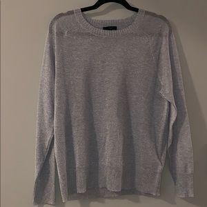 JCrew glitter lightweight sweater